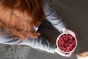 Las pepitas de granada liofilizada una superfruta, 100% Natural, Healthy y sin azúcar