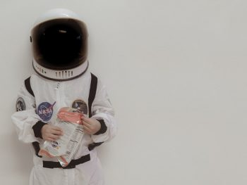 Comida liofilizada para astronautas